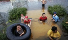Наводнение Таиланд 2011г