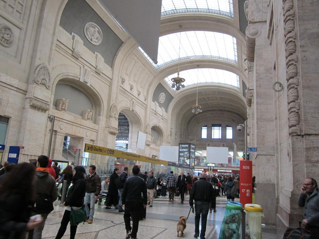 суета центрального вокзала